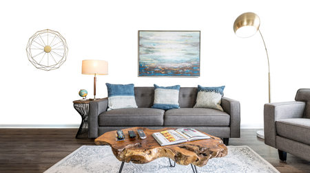 Furniture Options – Renting furniture is easy.